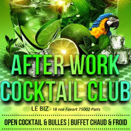 After Work After Work Coktail Club Jeudi 15 juin 2017