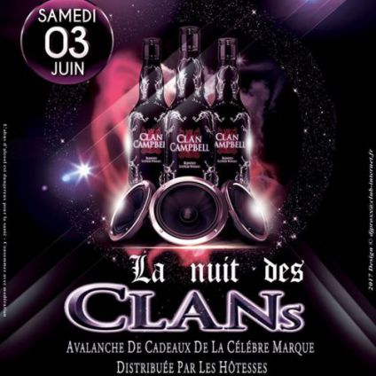 Clan campbell tour Trianon club