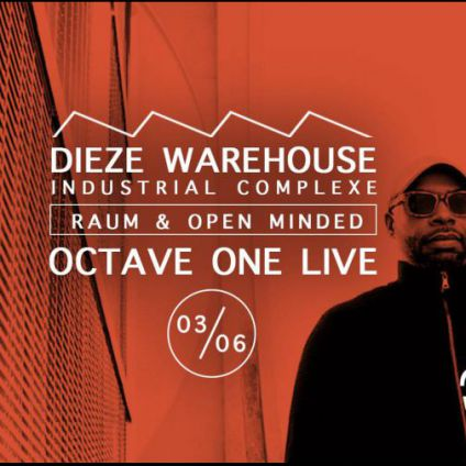 Soirée clubbing RAUM┃Open Minded present Octave One (Live) and more Samedi 03 juin 2017