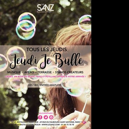 After Work Jeudi Je Bulle Jeudi 29 juin 2017