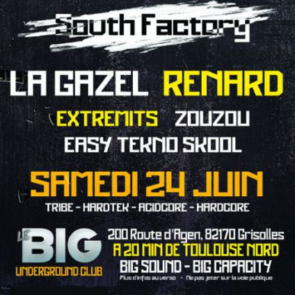 South-factory by lebig club underground Big