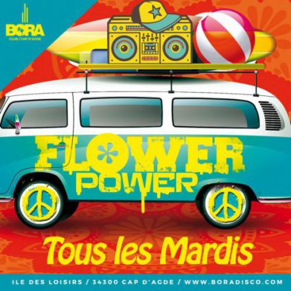 Flower power Bora