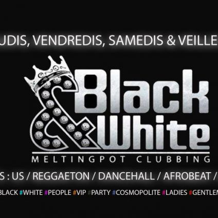 C'est le weekend entree gratuite Black and white