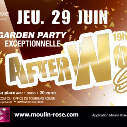 After work special 90 ans Moulin rose