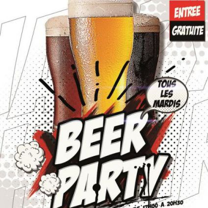 After Work BEER PARTY  Mardi 22 aout 2017