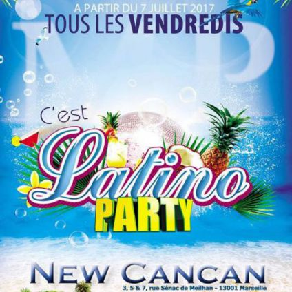 Latino party New cancan