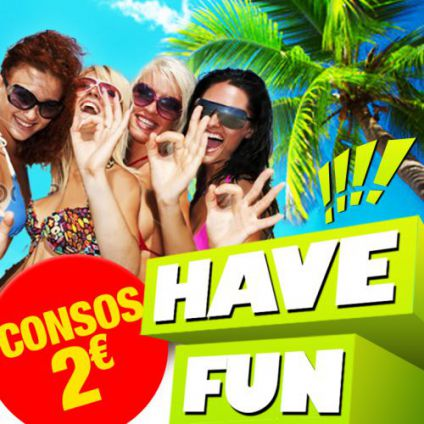 Have fun [ consos 2€ ] Hide chatelet