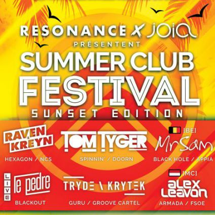 Festival Resonance x Joïa Summer Club Festival - Sunset Edition Samedi 29 juillet 2017