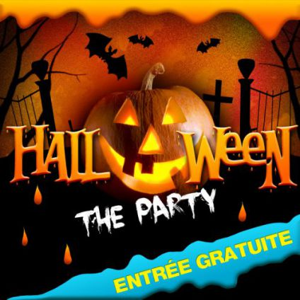 Soirée clubbing HALLOWEEN THE PARTY  Mardi 31 octobre 2017