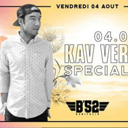 Before Kav Verhouzer at B'52 Bonifacio Vendredi 04 aout 2017