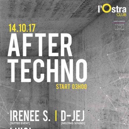 AFTER TECHNO Ostra Club