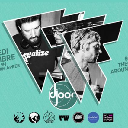 Soirée clubbing What The Funk : Soulist x Theo Mamie's x Around The World Vendredi 08 septembre 2017