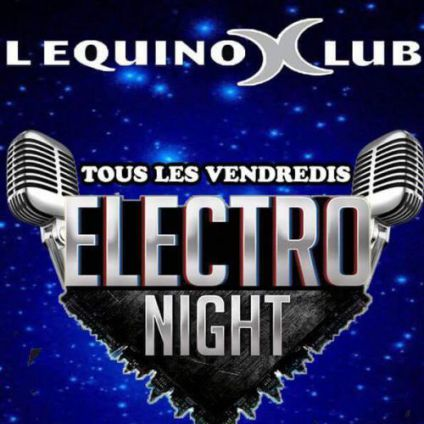 Electro night Equinox club