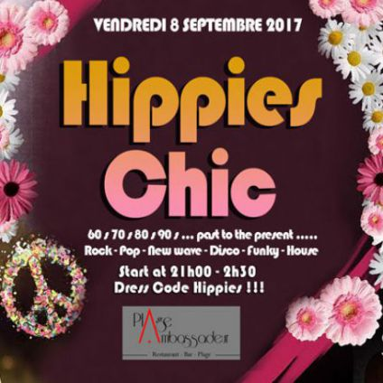 Soirée clubbing Hippies Chic on the Beach  Vendredi 08 septembre 2017
