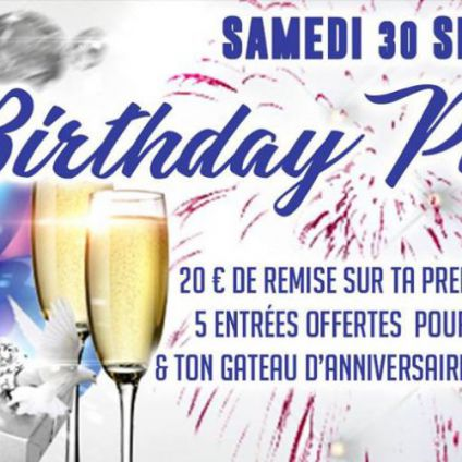 It's your birthday #septembre Light club