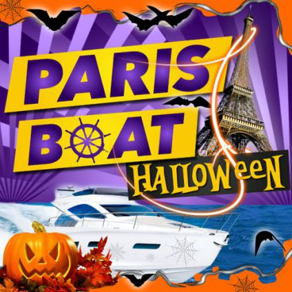 "Soirée clubbing HALLOWEEN Paris Boat ""Big Party"" Mardi 31 octobre 2017"