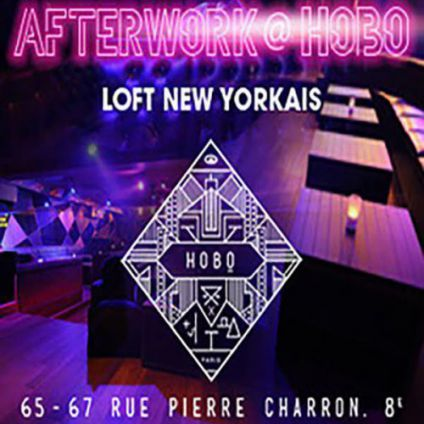 After Work AFTERWORK @ HOBO CLUB PARIS CHAMPS ELYSEES Jeudi 21 septembre 2017