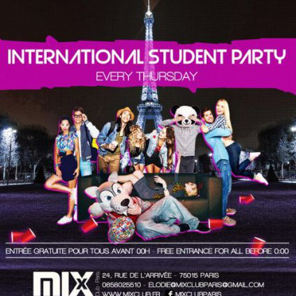 Soirée étudiante International Student party Jeudi 26 octobre 2017