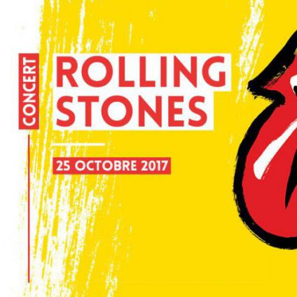 Concert Rolling Stones - No Filter // 25.10.2017 Mercredi 25 octobre 2017