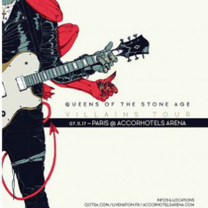 Concert QUEENS OF THE STONE AGE	 Mardi 07 Novembre 2017