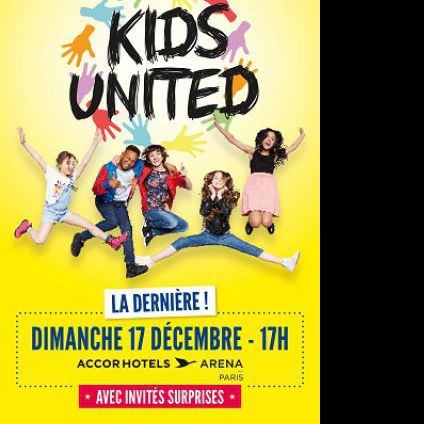 Kids united Accorhotels arena