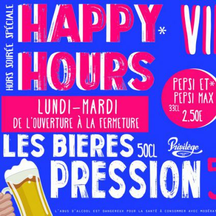 Before HAPPY HOURS Mardi 05 decembre 2017