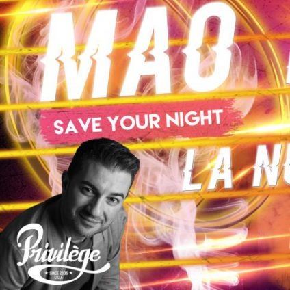 Before MAO SAVE YOUR NIGHT Vendredi 20 octobre 2017