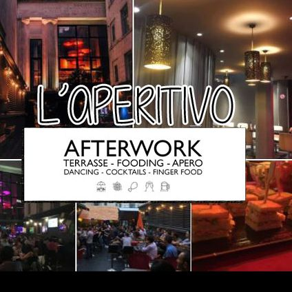 After Work MÉTRO, BOULOT, APERITIVO - L'AFTERWORK EN ILLIMITÉ ! Jeudi 26 octobre 2017