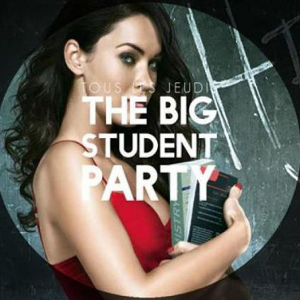 Soirée clubbing The Big Student Party Jeudi 05 octobre 2017