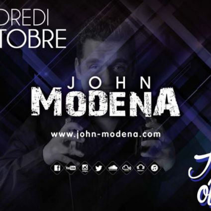 Soirée clubbing John Modena | House of dream Vendredi 27 octobre 2017