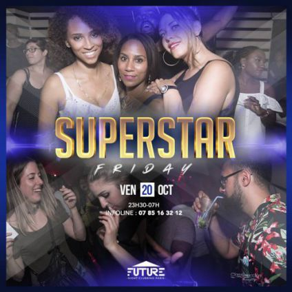Superstar friday  Village russe club future
