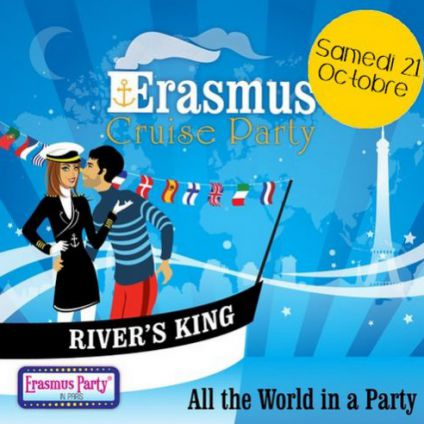 International erasmus cruise & boat party ! Rivers king