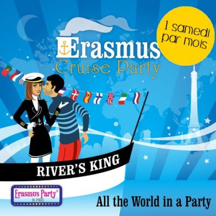 Erasmus cruise & boat party ! (croisiÈre, shots offerts, buffet offert, terrasse...) Rivers king