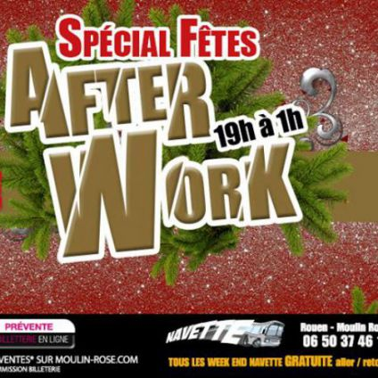 After Work AfterWork de Noël Jeudi 07 decembre 2017