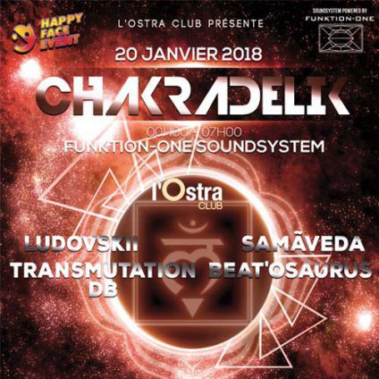 CHAKRADELIK Party @ L'Ostra Club Ostra Club