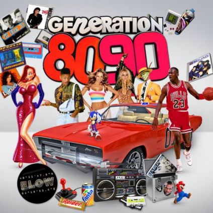 Generation 80-90 : la boum 80s 90s Flow
