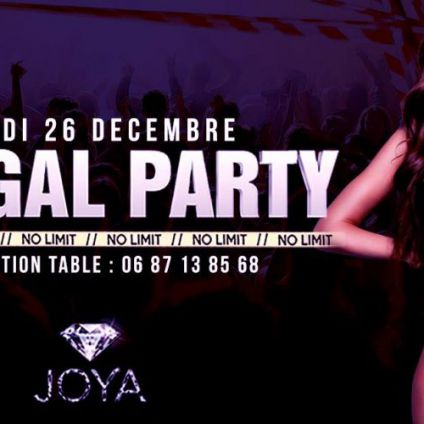 Soirée clubbing Illegal Party No Limit Mardi 26 decembre 2017