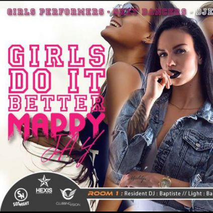 Soirée clubbing ● Girls Do It Better by Maddy Jay Samedi 20 janvier 2018