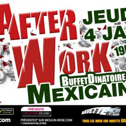 After Work After Work Mexicain Jeudi 04 janvier 2018