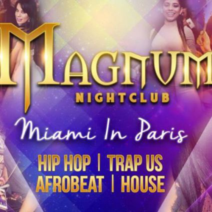 Vanity - welcome to miami Magnum club