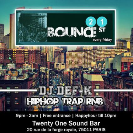 21 bounce street Twenty one sound bar
