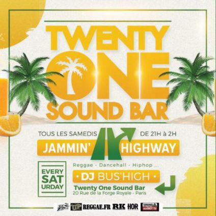 Jammin highway Twenty one sound bar