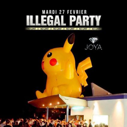 Soirée clubbing Illegal Party No Limit Mardi 27 fevrier 2018