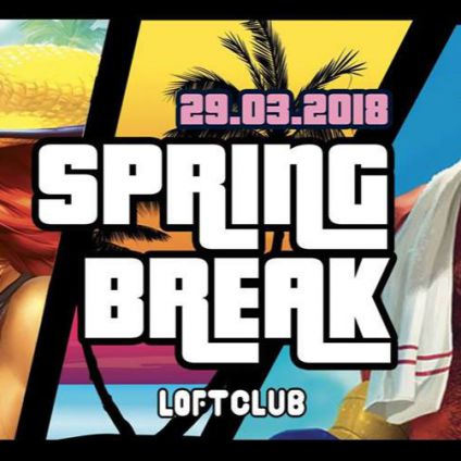 Soirée étudiante Spring Break - Erasmus & International Students Party Lyon Jeudi 29 mars 2018