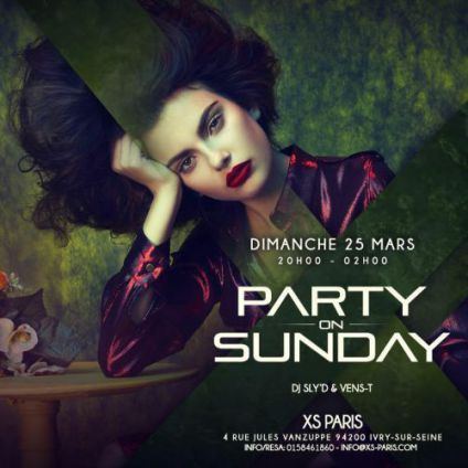 Before Party on Sunday Dimanche 25 mars 2018
