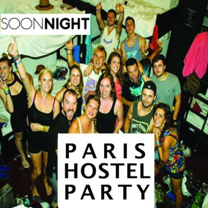 Soirée étudiante Paris hostel Party Vendredi 06 avril 2018