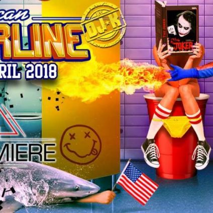 Soirée clubbing American Borderline By DJ K Lundi 30 avril 2018