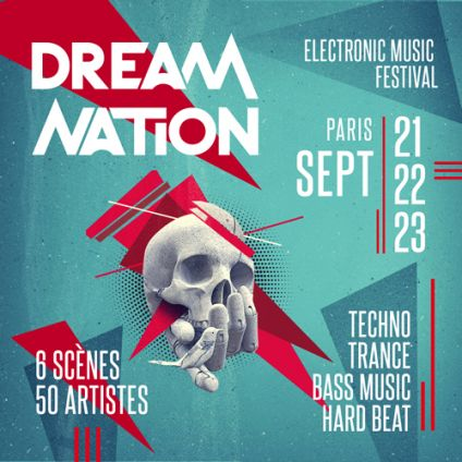 Festival Dream Nation Festival 2018 - Paris Samedi 22 septembre 2018