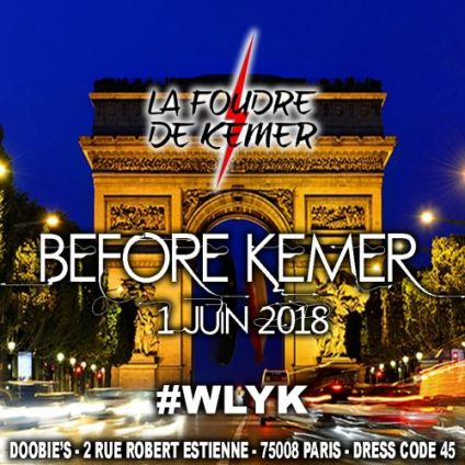 After Work BEFORE KEMER Vendredi 01 juin 2018