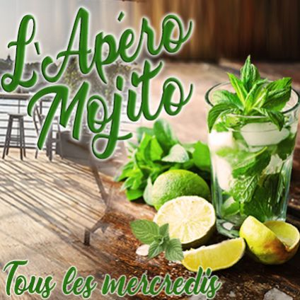 After Work L'APERO MOJITO (OPEN BAR MOJITOS, DOUBLE TERRASSE GEANTE AVEC VUE PANORAMIQUE A 360, BARBECUE GEANT) Mercredi 27 juin 2018